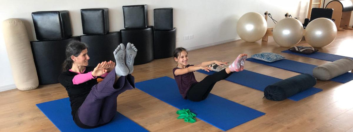 Kids Pilates for dancers
