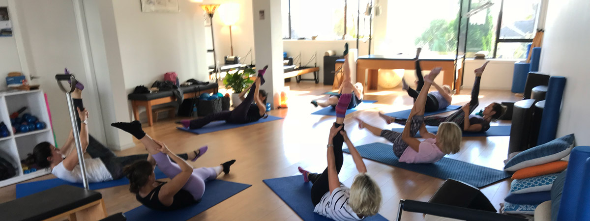 Pilates Class with Edna Levy